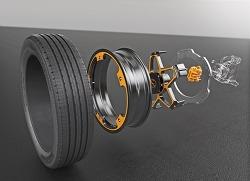 콘티넨탈, 전기 자동차를 위한 휠&브레이크 시스템 공개
