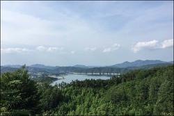 20180613 성주봉 용두봉 (전북진안) (용담호 조망)
