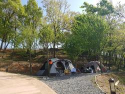 넘나 행복한 두번째 캠핑 갯골 캠핑장 고고씽~ (20180428)