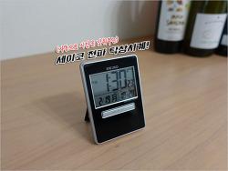 일본 삿포로 빅카메라에서 구입한 세이코 전파 탁상시계(SQ699K) 소개