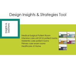 Design Insights &Strategies Tool #1