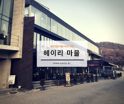 헤이리 예술 마을 맛보기^^