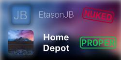 iOS 8.4.1 아이폰4s 탈옥툴, Homedepot으로 탈옥하는 방법