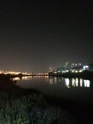 <자전거 감성여행>계족산 황톳길에 어둠이 내릴 때