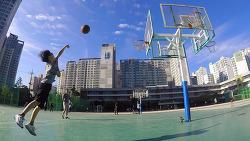 (영상) 역삼중학교에서 농구,축구,배드민턴 (2017.10.15)