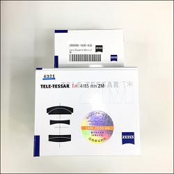 자이스 85mm F4 라이카 M용 / Zeiss ZM Tele Tessar 85mm F4 for Leica M