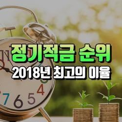 [2018년 1월] 적금 이자 높은 은행 순위 : 1년,2년 적금통장 추천