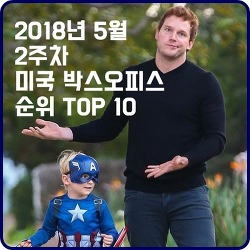 2018년 5월 2주차 북미 영화 박스오피스 순위 TOP 10