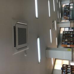 중앙도서관 중앙자료실 원형2층 냉난방기 교체