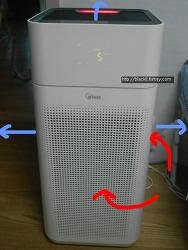 위닉스 공기청정기AGX660W 1달 사용후기