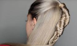 """DNA Braid"" Hair Trend Turns Ordinary Locks Into Spiraling DNA Molecules"