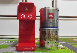 일리 커피 머신 illy Y3.2  레드, 외형부터 작동까지