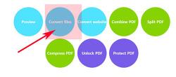 엑셀 pdf 문서 변환 사이트 이용방법