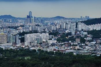 성북동 말바위쉼터 야경사진