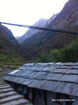 안나푸르나 - 세 유부남의 가벼운 여행 일곱째 날 (1)