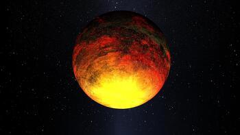 첫 번째로 발견한 암석으로 형성된 가장 작은 행성 (지구형 행성) 케플러-10b (Kepler-10b)