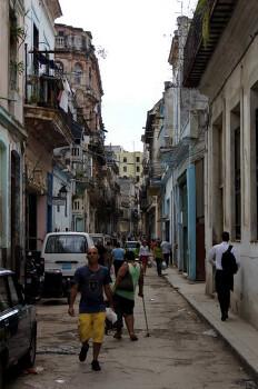 쿠바 [아바나] 동네 골목길 구경.
