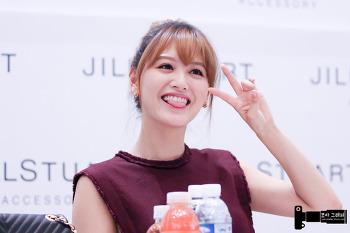 140920 부산 신세계 백화점 질스튜어트 팬싸인회 김재경 직찍 part2