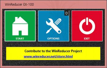WinReducer EX-100  v0.9.11.0a / 81 - v1.6.1.0 /70 - v1.6.1.0