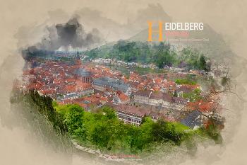 낭만이 있는 아름다운 도시, 독일 하이델베르크