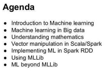 [datamantra] Introduction to Machine Learning with Spark