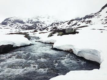 노르웨이, 자연의 광활함~!! 가우라산 코스