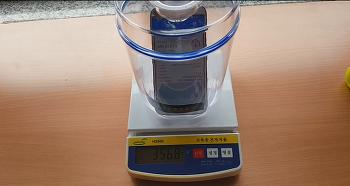 초간단 공기 무게 측정하기