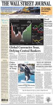 Global Currencies Soars, Defying Central Bankers _WSJ