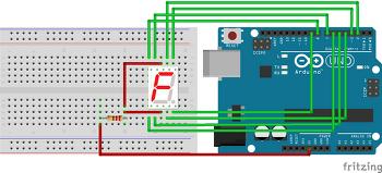 [Arduino] 7-세그먼트 사용하기.