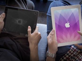 iDB 이번주 아이폰 배경화면 : 애플 로고