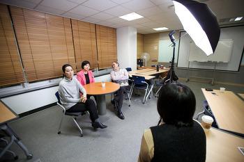 한국코치협회 협회지 표지 및 인터뷰 촬영