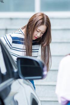 [160904] 오마이걸 지호 부산 팬싸인회 출근 직찍 by 남똑
