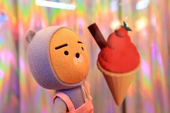 """[에스팩토리 / 하이 아이스크림 """"아이스크림에 빠지다"""" 展] 성수 S FACTORY # Hi, ice cream """"아이스크림에 빠지다 전 # 아이스크림 전시회 # 빙그레 콜라보 2018"""