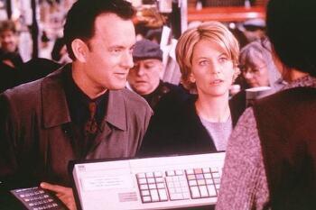 '유브 갓 메일 You've Got Mail, 1998' 톰 행크스와 멕 라이언을 이어준 사랑의 이메일