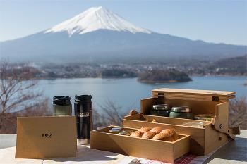 후지산을 바라보며 아침을, 일본 후지산 여행 가와구치코 호시노야 후지