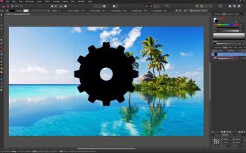 Affinity Photo 클리핑마스크와 클리핑패스 jpg 저장