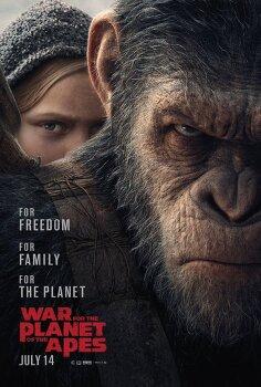 혹성탈출:종의전쟁 War for the Planet of the Apes, 2017 ★★★★☆