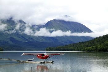 """알래스카 """" Moose Pass의 호수"""""""