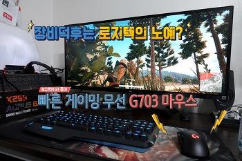 배틀그라운드 게이밍 마우스 G703 추천