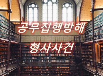 공무집행방해죄  경찰폭행 사건