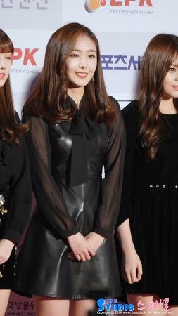 170119 서울가요대상 레드카펫 여자친구 신비 직캠 by 스피넬