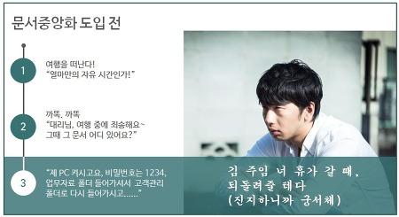 """""""롯데물산에선 문서중앙화 왜 도입했지?"""" (문서관리, 문서보안)"""