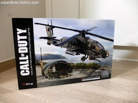 프라모델의 정교함과 블록의 손맛을 동시에 – 메가블럭 AH-64 아파치