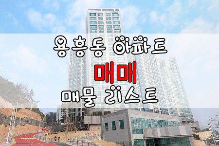 ◈포항아파트◈ 용흥동 아파트매매 매물리스트 1월3일 : 양학산KCC아파트, 용흥우방타운, 쌍용아파트, 용흥삼성푸른, 용흥보성아파트