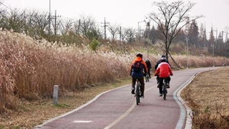 광주 자전거여행! 영산강 자전거길 안내센터