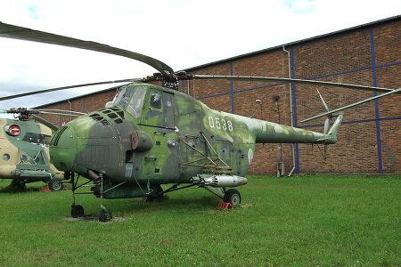 투박하다 못해 우스워 보일 정도의 러시아 헬리콥터들