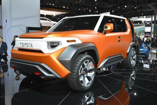 2017 토요타 FT-4X 컨셉트(Toyota FT-4X Concept) +2017 뉴욕 오토쇼 출품작