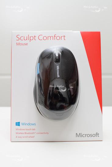 Windows 8.1을 위한 블루투스 마우스 - Microsoft 스컬프트 컴포트 마우스