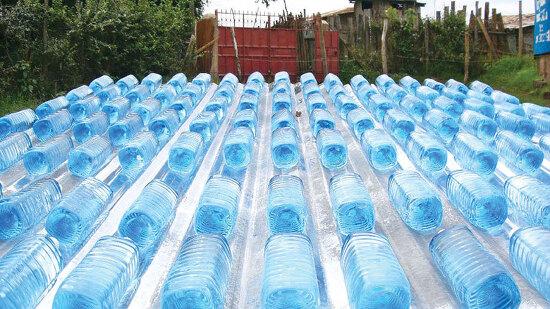 물속 미생물을 없애는 자외선과 태양광, 폴리실리콘