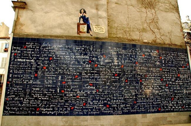 사랑의벽 Le mur des je t'aime - 몽마르뜨의..